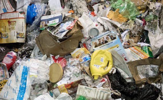 photo of plastic garbage